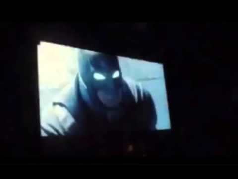 Batman vs Superman Comic Con Teaser footage