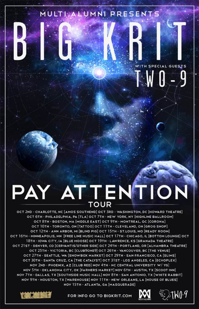 Big K.R.I.T. Announces 31 Day North American Tour