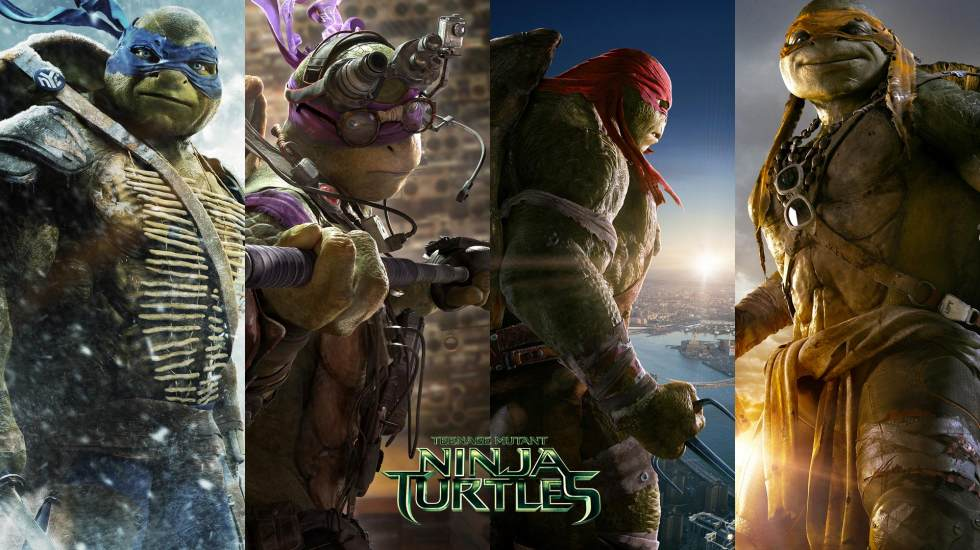 2014 TMNT Movie CLIP – The Elevator