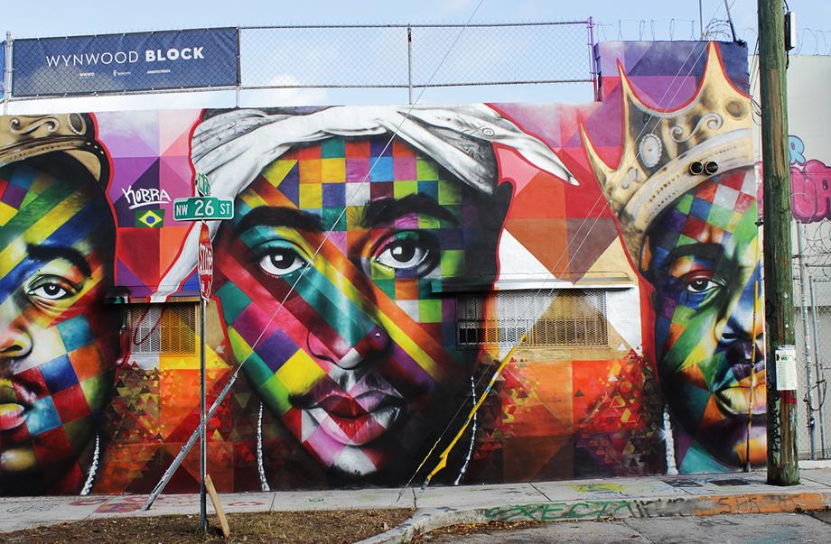 Eduardo kobra creates these stunning murals for Mural eduardo kobra