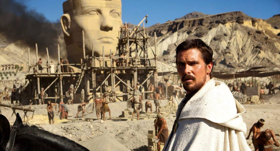 New trailer for Exodus: Gods and Kings starring Christian Bale & Aaron Paul