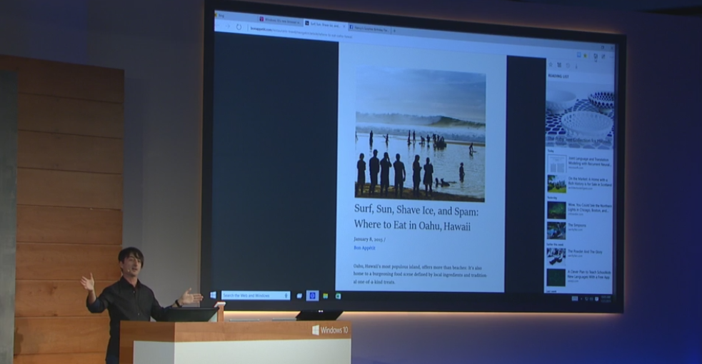 Microsoft has a new browser, Project Spartan