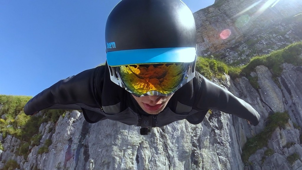 The GoPro makes Wingsuit Flying Majestic