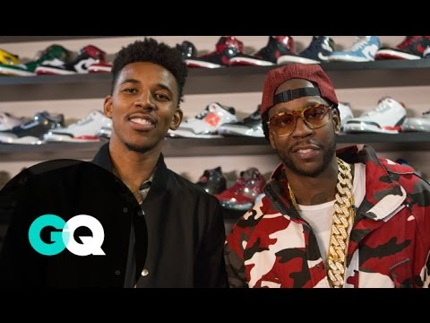 Nick Young & 2 Chainz Shop for Ultra-Rare Sneakers
