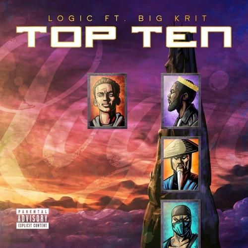 Logic ft. Big K.R.I.T. – Top Ten (Audio)