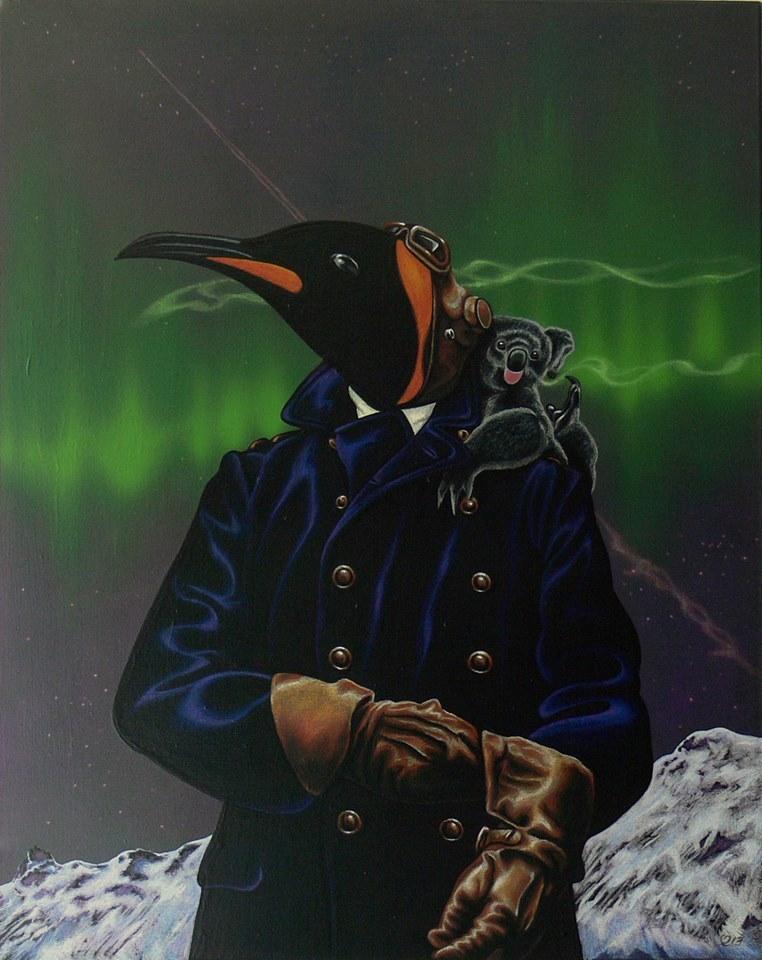 Julian Quaye – The Aviator (Art)