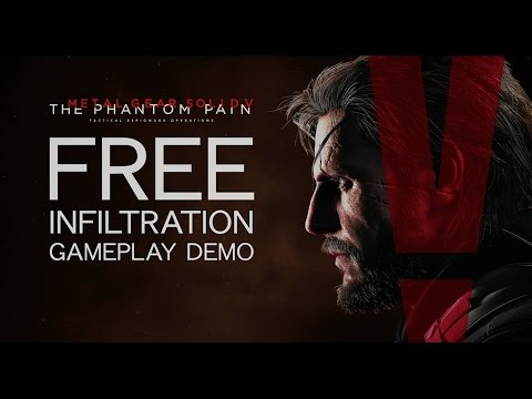 Metal Gear Solid V – Freedom of Infiltration Gameplay Demo