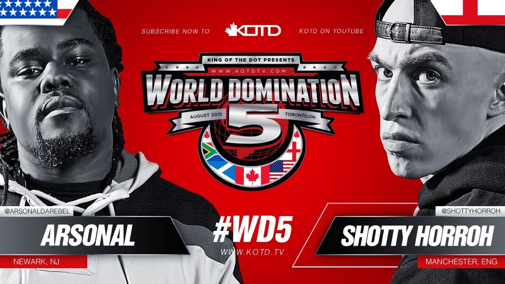 Rap Battle – Shotty Horroh vs Arsonal II | #WD5