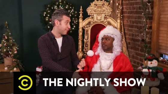Cam'ron: The Nightly Show's Office Santa (Video)
