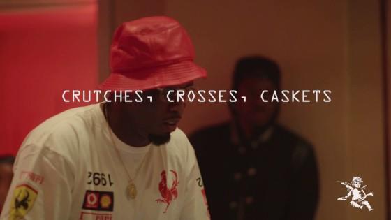 "Pusha T – ""Crutches, Crosses, Caskets"" Studio Session"