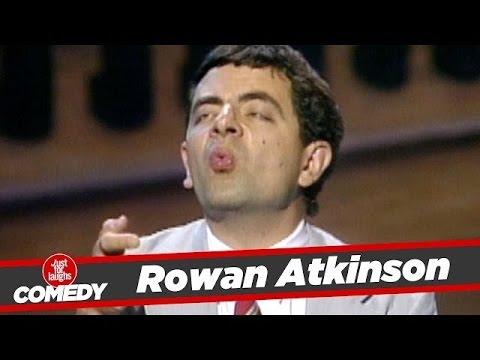 Rowan Atkinson aka Mr. Bean Stand Up #TBT