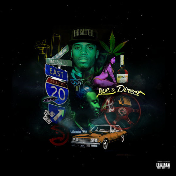 B.o.B & Scotty ATL – Live & Direct (Mixtape)