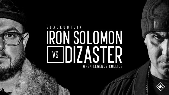 Rap Battle – Iron Solomon vs Dizaster (Video)
