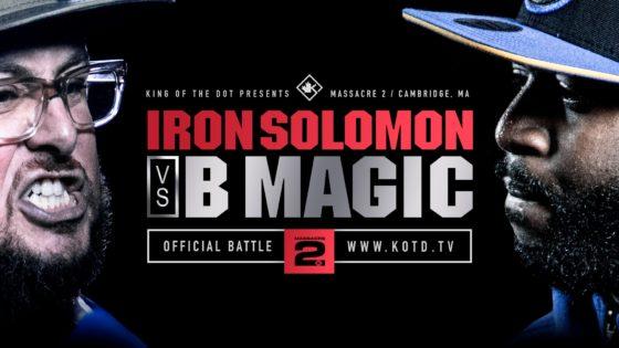 Rap Battle – Iron Solomon vs B Magic