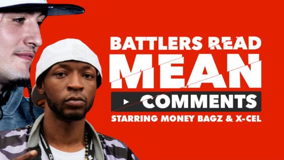 Battler Rappers Read Mean Comments – Money Bagz/Xcel (Video)