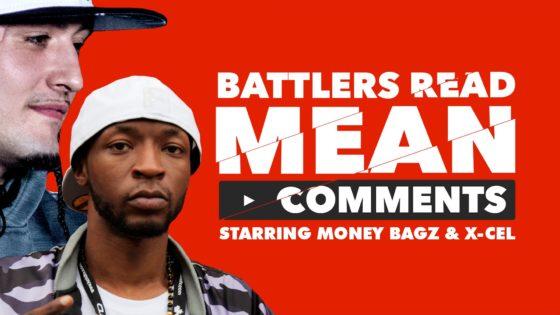 Battler Rappers Read Mean Comments – Money Bagz/Xcel (Video)