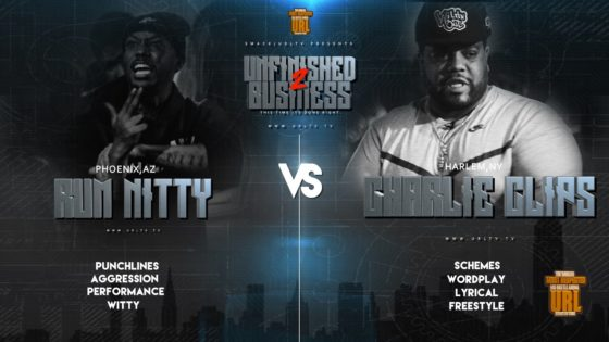 Rap Battle: Rum Nitty vs Charlie Clips (Video)