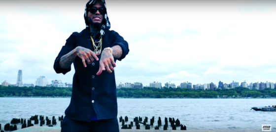 Dave East overlooks his city in new video 'Type of Time'
