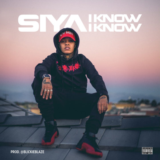 """Sisterhood of Hip-Hop Star Siya Shows A Different Side Of Herself on """"I Know I Know"""""""