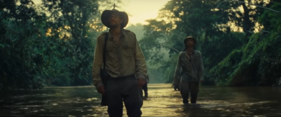 Watch the trailer for The Lost City of Z starring Sons of Anarchy's Charlie Hunnam