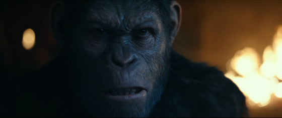 The trailer for 'War for the Planet of the Apes' is here!