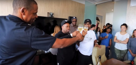 Jay Z Welcomes Yo Gotti To Roc Nation (Video)