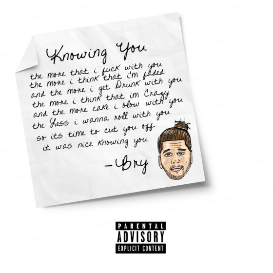 Bry returns with his latest track 'Knowing You'