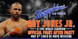 Roy Jones Jr. to Host After-Fight Party in Las Vegas following Canelo Alvarez vs. Julio Cesar Chavez Jr.