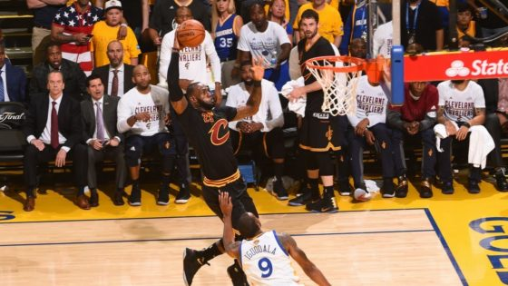 Watch the Top 10 Dunks of The 2017 NBA Finals + Mini Movie
