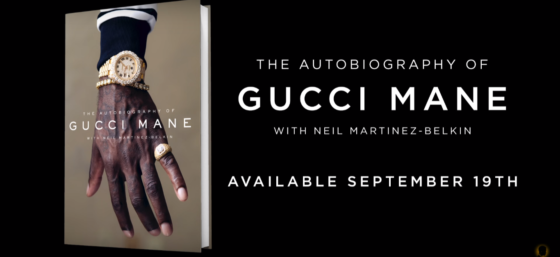 Gucci Mane's first book is coming out September 19th