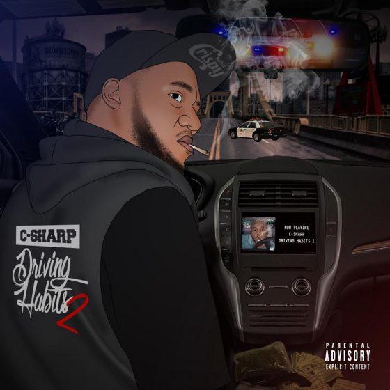 "Stream Orange Country rapper C-Sharp's mixtape ""Driving Habits 2"""