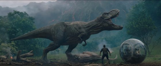 Watch the official trailer for Jurassic World: Fallen Kingdom