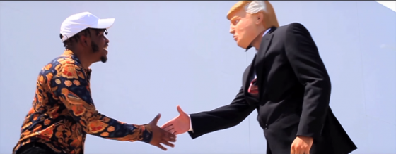 """Houston rapper Rocky Banks Channels '80s Workout Videos, Takes Shots at Trump in """"Tony Hawk"""""""