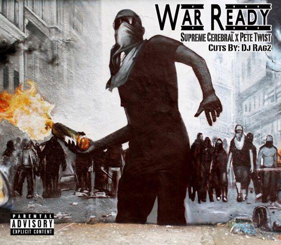 Listen to Supreme Cerebral and Pete Twist's 'War Ready'