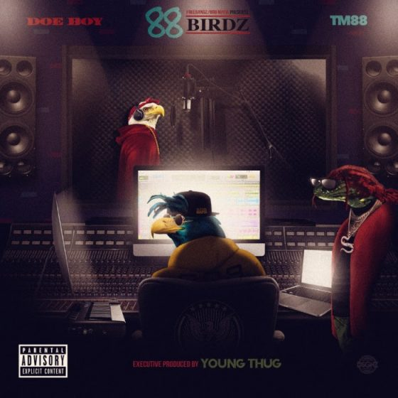 Cleveland Trapper Doe Boy Teams with Young Thug & 808 Mafia for 88 Birdz Mixtape