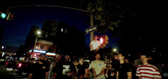 Marlon Craft spits the bars for his new video 'NY Baby' featuring Bodega Bamz