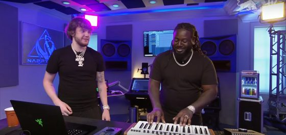 Murda Beatz hits the Remix Lab with T-Pain for Red Bull
