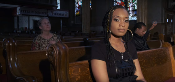 Chicago's Aasha Marie raps about the city's gun violence in her video 'WYWS'