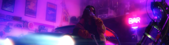 "Newcomer Abby Jasmine Flexes in the Neon-Lit ""Tags"" Video featuring LevyGrey"