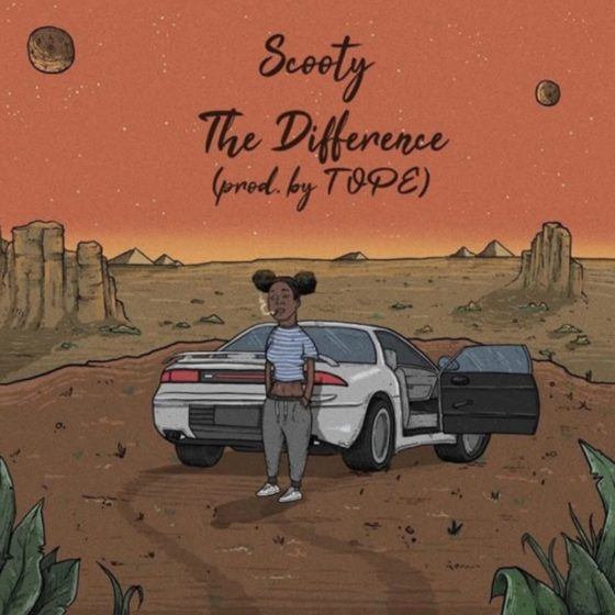Houston artist Scooty announces new EP with TOPE and drops 'The Difference'