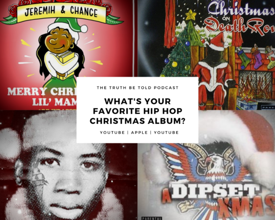 Christmas 2019 Playlists from The Truth Be Told Podcast for Spotify & TIDAL